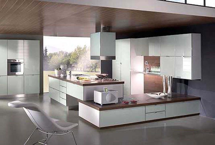 Cuisine design italienne images for Decoration cuisine moderne
