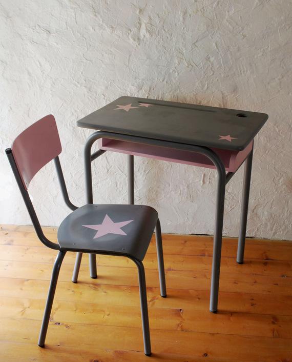 5 chaises de bureau rétro