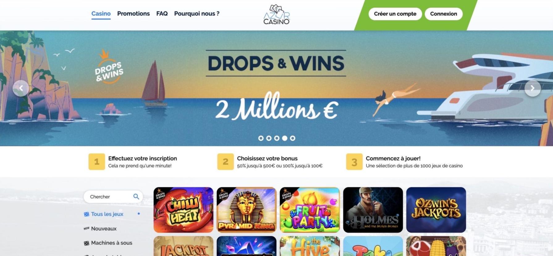azur casino 2020